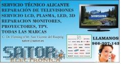 Reparación de television en Alicante
