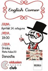 NUEVO ENGLISH CORNER EN DONOSTIA