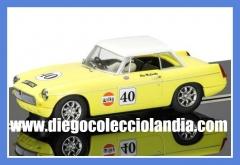 Tienda scalextric en madrid. www.diegocolecciolandia.com . coches scalextric, slot en madrid. oferta