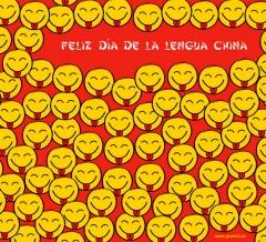 Hoy todos los chinos fardando de lengua :P