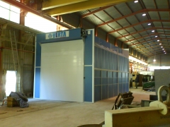 Cabina semi-industrial nova verta en griñon (madrid)