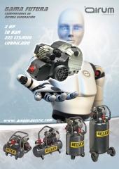 nuevos compresores de piston gama FUTURA