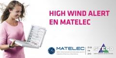 High Wind Alert en MATELEC presenta la nueva Ventilación con Filtro Plus STEGO