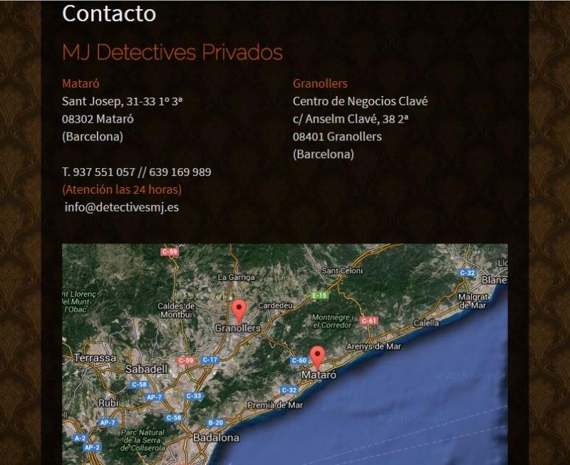 MJ DETECTIVES PRIVADOS - L.2237