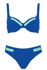 Bikini-Colour-Plays-7050-Lidea Bikini tallas grandes azul liso lidea Bikini con aro lenceriaemi.com