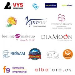 Algunos logotipos de clientes