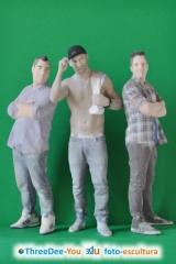 Orgullo gay 2016 - figuras personalizadas - souvenir de madrid - threedee-you foto-escultura 3d-u