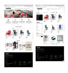 Desarrollo de la p�gina web de la empresa In&Office