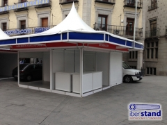 stands modulares exteriores