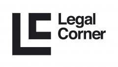 Dise�o de logotipo del bufete de abogados Legal Corner, especialistas en herencias.