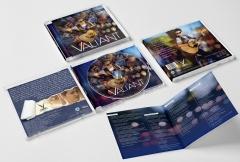 Diseño gráfico y maquetación para cd del artista