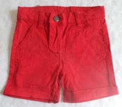 Pac1-0002. pantal�n corto beb� y reci�n nacido ni�o, en color rojo.