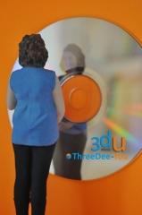Souvenir personalizado - figuras 3d - threedee-you foto-escultura 3d-u