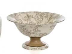Centro de mesa de cer�mica y forma de copa versaille. cer�mica san marco.
