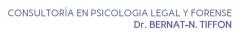 Consultoria en psicologia legal y forense - dr. bernat-n. tiffon