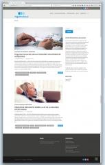 Página web low cost de la asesoría financiera Pagodeudas.es, by Gruetzi