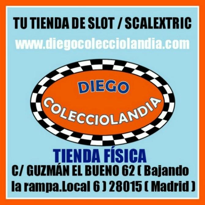 Jugueter�a Scalextric en Madrid. www.diegocolecciolandia.com .Coches y arreglo Scalextric en Madrid.