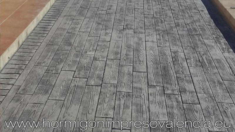 Hormigon impreso valencia gp for Hormigon pulido valencia