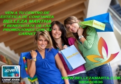 PROMOCIONES EN BELLEZA MARTHA: DISFRUTALAS