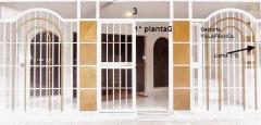 Portal del bloque de gestoria asesoria villafranca, en granada, pl. albert einstein, nº 3-1ºg