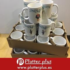 Personaliza e imprime tu #taza en #plotterplus con el diseño que quieras