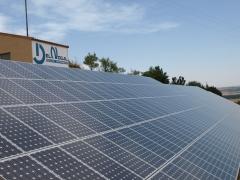 Huerta solar 100kw
