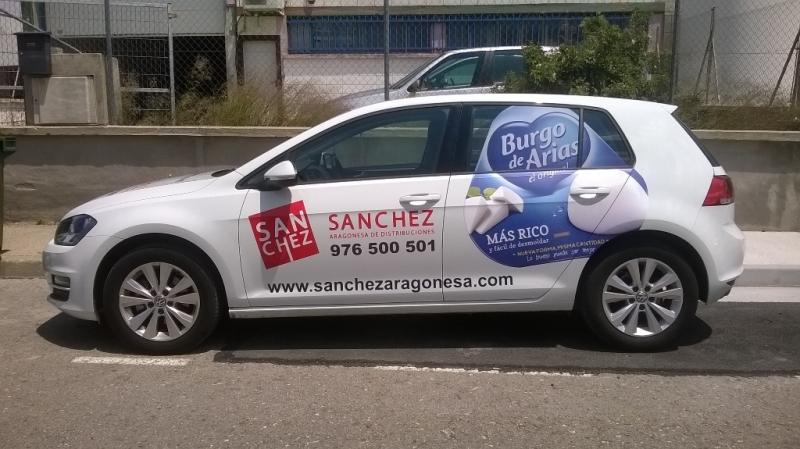rotulación para Sanchez Aragonesa de distribuciones