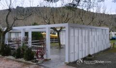 Pércola de uso común en camping sant miquel, colera. navarrolivier.com