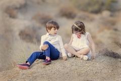 reportajes de niños en exteriores y jardines