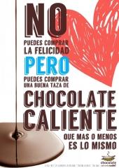 Chocolate Caliente ZADEL la Felicidad no tiene Precio.