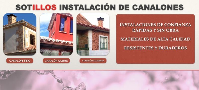Foto instalaci n de canalones pluviales de todo tipo de - Instalacion de canalones ...