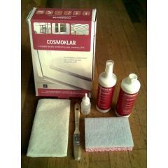 Conjunto de productos mantenimiento del PVC