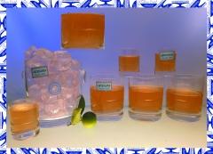 Vasos de cristal de bohemia con iniciales