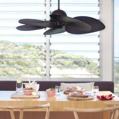 CASA BRUNO ventilador de techo Tahiti marrón café
