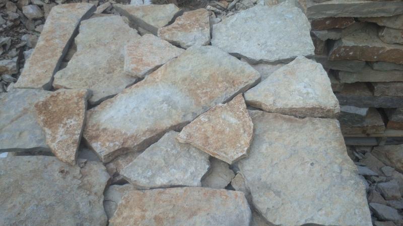 Piedra  rustica multicolor