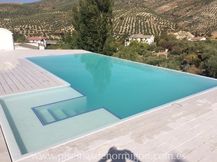Construcci n de piscinas de obra poolhmon - Piscinas de material ...