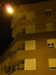Celosias de protecci�n en balcones