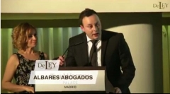 Intervención letrado pedro albares premio de ley por valencia