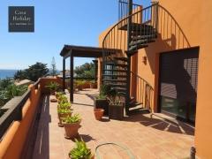 Big terrace apartament for sale in spain