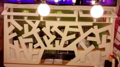 Paneles decorativos de madera lacada