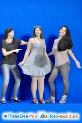 Recuerdo de la despedida de soltero - figuras 3d de threedee-you foto-escultura