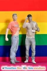 Promoción Orgullo Gay 2017 - 20% de descuento en desnudos - ThreeDee-You Foto-Escultura 3d-u