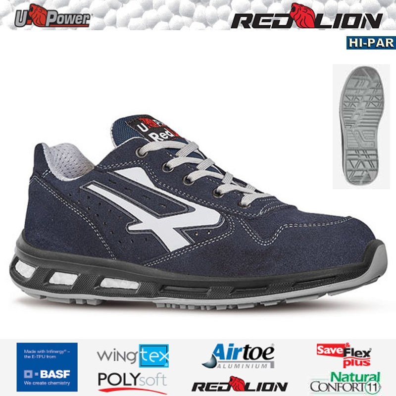 Zapatilla U-POWER EMOTION S1P Red Lion con INFINERGY