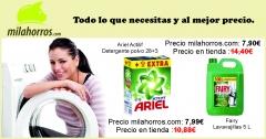 Oferta Ariel y Fairy