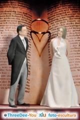 Figuras de novios para tarta de boda - ponte en tu tarta - threedee-you foto-escultura