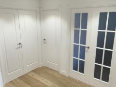 puertas de interior lacadas en blanco San Rafael modelo 9100ar