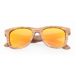 gafas de sol de madera zebrano