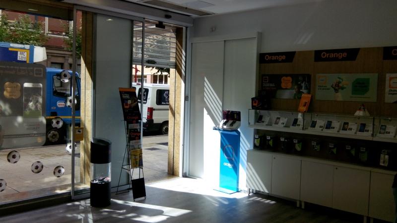 Acondicionamiento local comercial nuevas oficinas Orange.