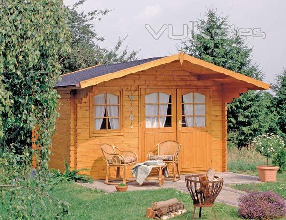 Foto casetas de madera para jard n - Casetas madera jardin leroy ...