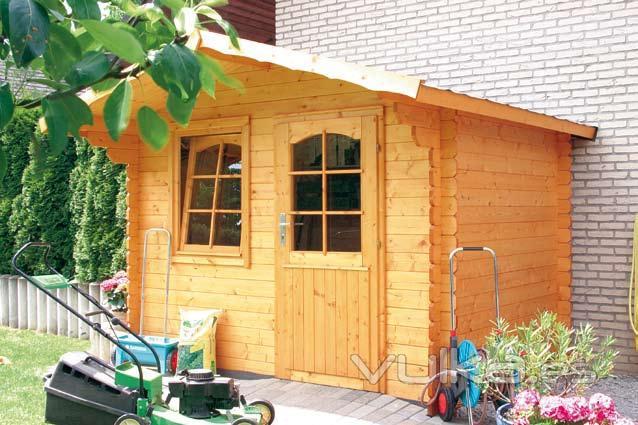 Foto casetas de madera para jard n for Casetas de jardin de madera